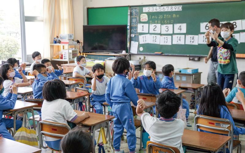 七ヶ浜町立亦楽小学校<br /> 「英語コミュニケーション科」