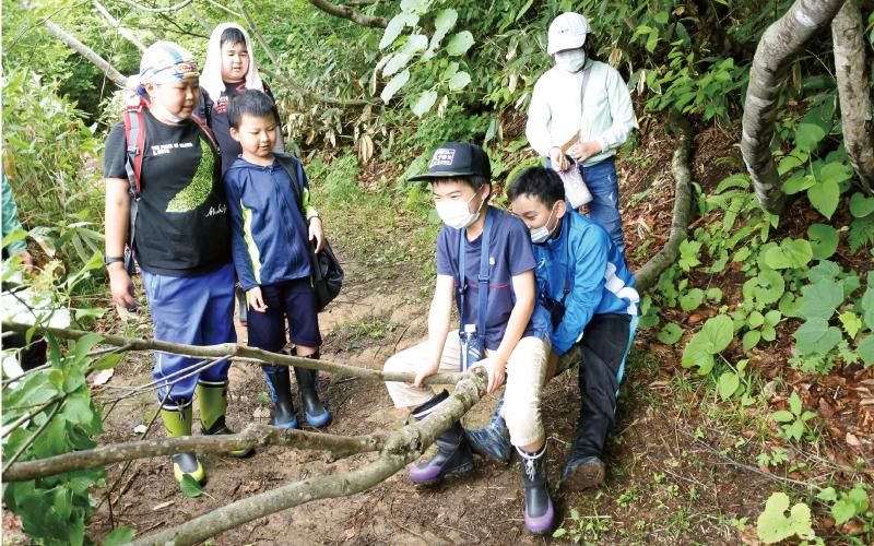西川町立西川小学校<br /> 「ブナの森自然学校」